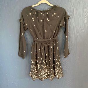 GAP Dresses - NWT Gap Kids Black Dress Size Large 10 Flowers
